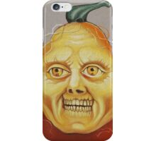 Scary Pumpkin Teeth iPhone Case/Skin