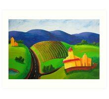Irongate Winery Art Print