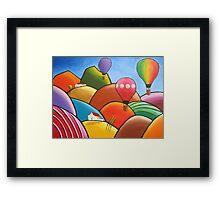 Winery Days Framed Print