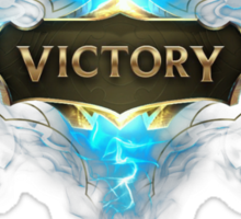"""Victory League of Legends """"NEW"""" Sticker"""