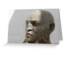 Statue in Oaxaca Greeting Card