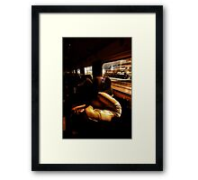 Sheltered Framed Print