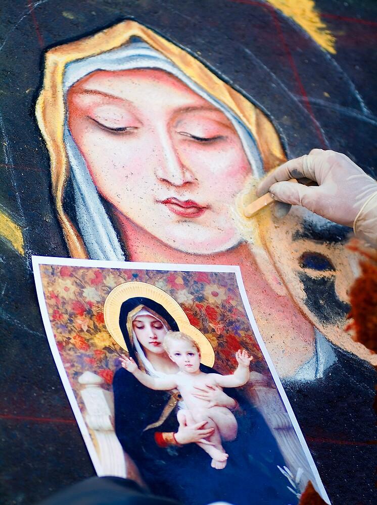 Madonna by Eyal Nahmias
