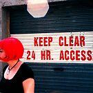 keep clear by Rosina  Lamberti