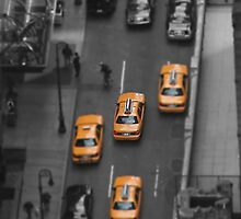 Yellow Cabs by safariboy