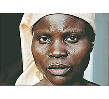 'Portrait of war' Southern Democratic Republic of Congo Photographic Print