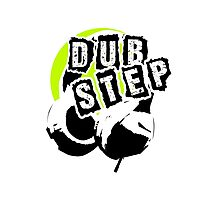 Dub Step Point (with headphones) Photographic Print