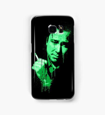 Bill Hicks (green) Samsung Galaxy Case/Skin