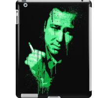 Bill Hicks (green) iPad Case/Skin