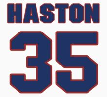Basketball player Kirk Haston jersey 35 by imsport