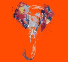Elephant Art Kids Tee