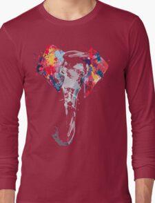 Elephant Art Long Sleeve T-Shirt