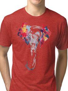 Elephant Art Tri-blend T-Shirt