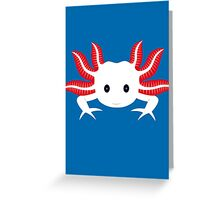 Axolotl Greeting Card
