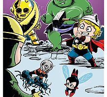 Avengers by ickhwano