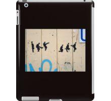 Silly Walk graffiti  iPad Case/Skin