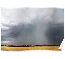 Mallee Rainshaft Poster