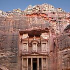 Petra´s Treasury by Norbert Probst
