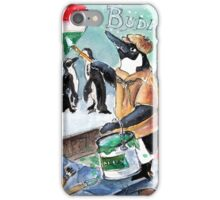 The Penguins From Budapest iPhone Case/Skin