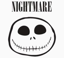 Jack Skellington Nightmare - Nirvana Parody T Shirt by wordsonashirt