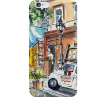Trattoria Mamma In Budapest iPhone Case/Skin