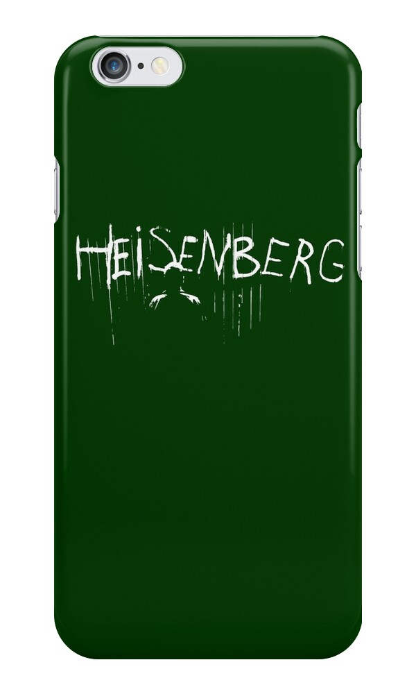 My name is heisenberg graffiti spray paint breaking bad for Spray paint iphone case