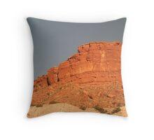 Red Rocks Throw Pillow