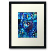 The Heart of Christmas Framed Print