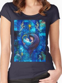The Heart of Christmas Women's Fitted Scoop T-Shirt