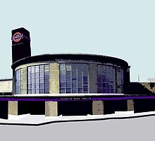 Chiswick Park Station by Sue Porter
