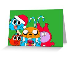 adventure time - Gumball- Christmas Greeting Card