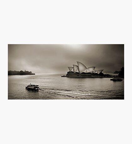 Foggy Sydney Photographic Print