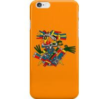 Eagle and Snake - Codex Fejervary Mayer 42 iPhone Case/Skin