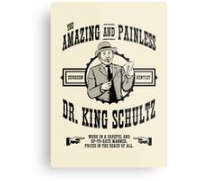 Dr. King Schultz Metal Print