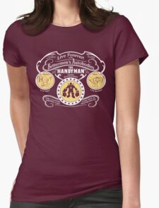Handyman Autobodies Womens Fitted T-Shirt