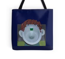 Toilet Face Tote Bag