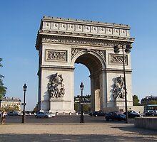 Arc de Triomphe, Paris by Peter Walters