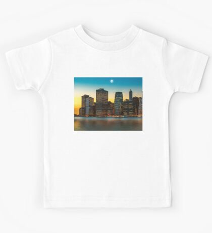 Moon over Manhattan Kids Tee