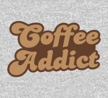 Coffee addict  One Piece - Short Sleeve