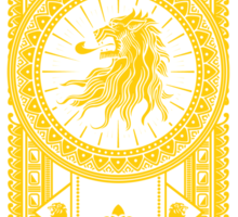 House of Lions Sticker
