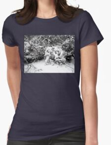 SNOW SCENE 1 Womens Fitted T-Shirt