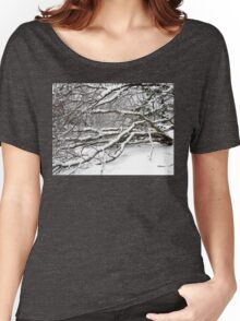 SNOW SCENE 2 Women's Relaxed Fit T-Shirt