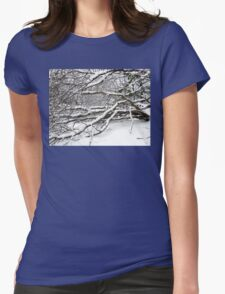 SNOW SCENE 2 Womens Fitted T-Shirt