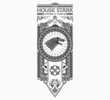 House Stark (Black) T-Shirt