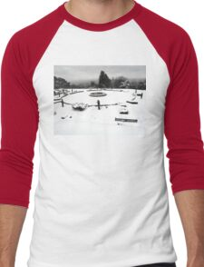 SNOW SCENE 3 Men's Baseball ¾ T-Shirt