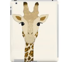 Golden Glitter Giraffe iPad Case/Skin