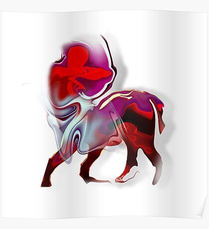 Sagittarius zodiac sign Poster