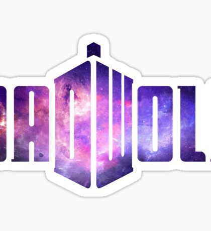 Doctor Who Badwolf - Galaxy # 1 Sticker