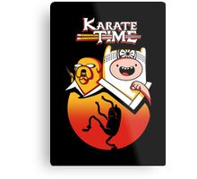 Karate Time Metal Print