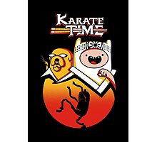 Karate Time Photographic Print